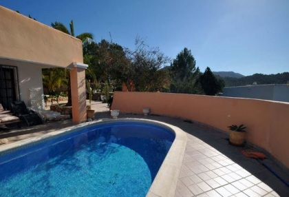 Cala tarida villa with guesthouse for sale sea & sunset views 5