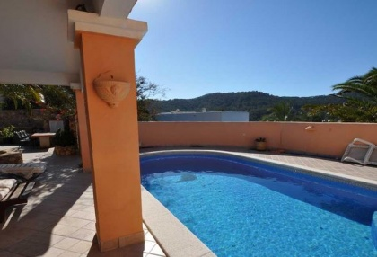 Cala tarida villa with guesthouse for sale sea & sunset views 6