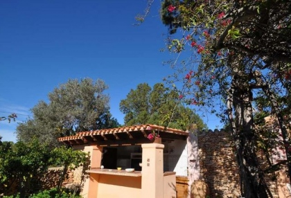 Cala tarida villa with guesthouse for sale sea & sunset views 7