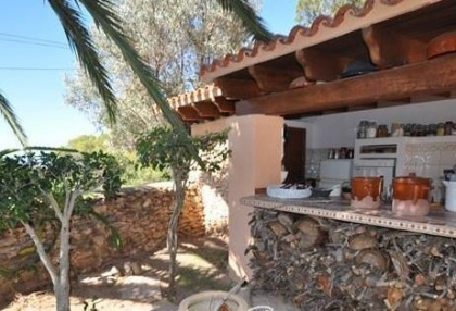 Cala tarida villa with guesthouse for sale sea & sunset views 8