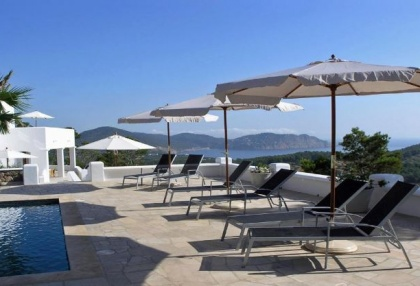 6 bedroom luxury sea view villa for sale Santa Eularia Ibiza 9