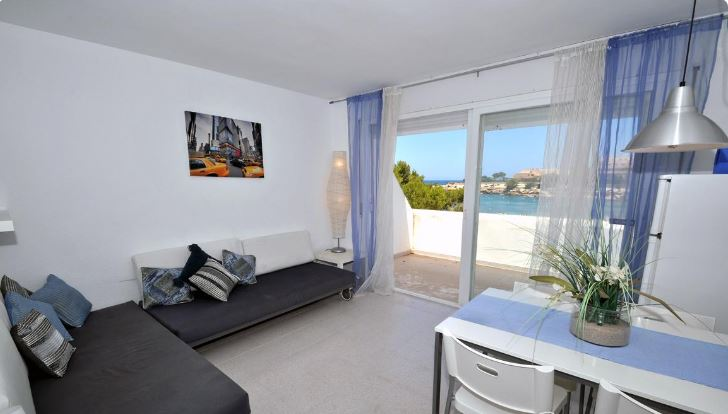 Modern 1 Bedroom Beach Apartment In San Jose With Sea Views Ideal Investment Ibiza Properties