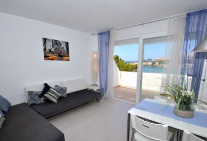 Charming 1 bedroom modern apartment on seafront San Jose for sale Ibiza investment property 5