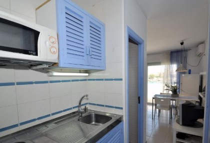 Charming 1 bedroom modern apartment on seafront San Jose for sale Ibiza investment property 8