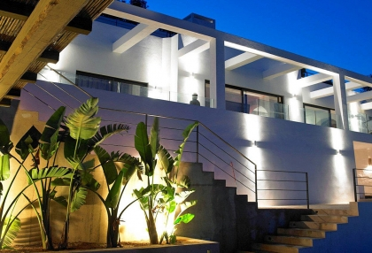Luxury prestige villa for sale in hills of Es Cubells San Jose de sa Talaia Ibiza 1