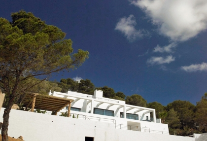Luxury prestige villa for sale in hills of Es Cubells San Jose de sa Talaia Ibiza 2