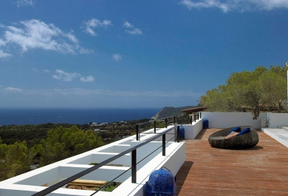 Luxury prestige villa for sale in hills of Es Cubells San Jose de sa Talaia Ibiza 4