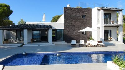 Stylish refurbished villa for sale close to Cala Codolar, Ibiza