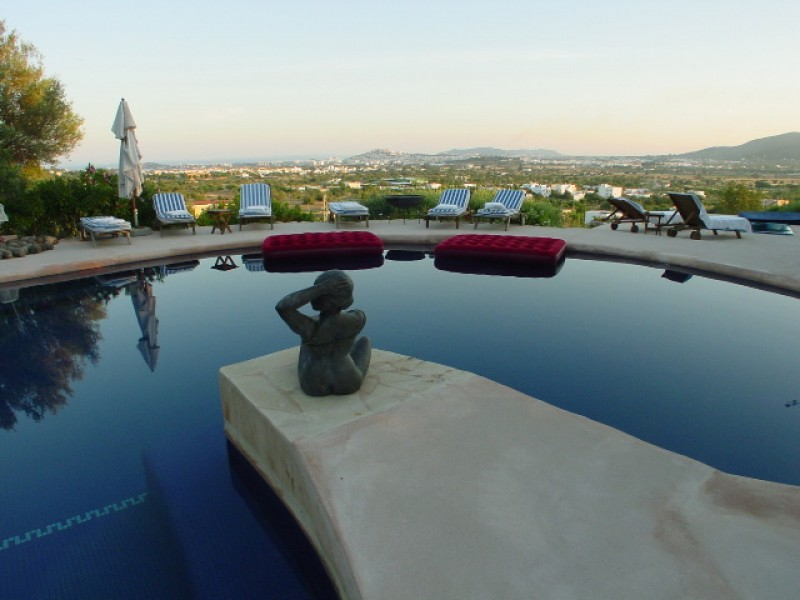 Fabulous 14 bedroom luxury mansion house for sale in Ibiza close to Marina Botafoch Yachting Harbour