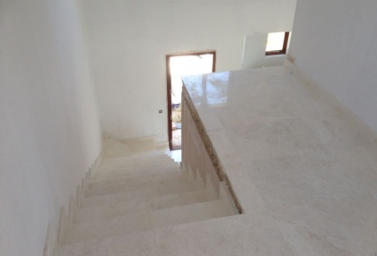Es Cubells Ibiza luxury unfinished villa for sale in over 6 acres of land with distant sea views 6