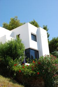 Villa close to the sea with views to Formentera, Ibiza