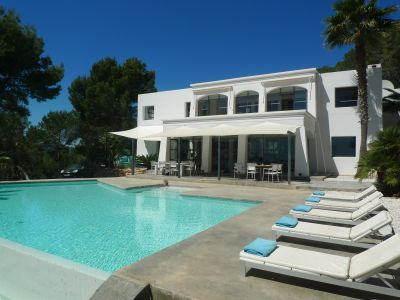 Reduced Elegant Villa for sale in Ibiza with views over Formentera