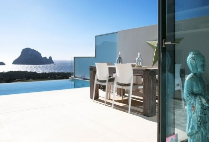 3 bedroom luxury sea view villa for sale San Jose coast Ibiza Spain 14