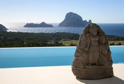 3 bedroom luxury sea view villa for sale San Jose coast Ibiza Spain 15