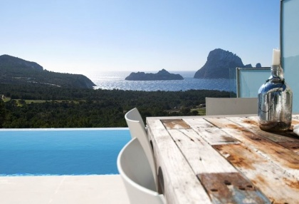 3 bedroom luxury sea view villa for sale San Jose coast Ibiza Spain 2
