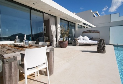 3 bedroom luxury sea view villa for sale San Jose coast Ibiza Spain 5