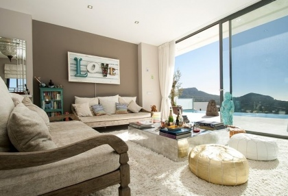 3 bedroom luxury sea view villa for sale San Jose coast Ibiza Spain 6
