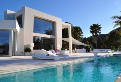 Contemporary luxury sea view villa for sale San Jose San Agustin Ibiza 1
