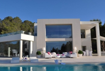 Contemporary luxury sea view villa for sale San Jose San Agustin Ibiza 21