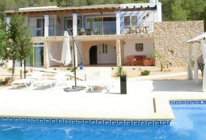 San Jose Ibiza country house for sale with coast views
