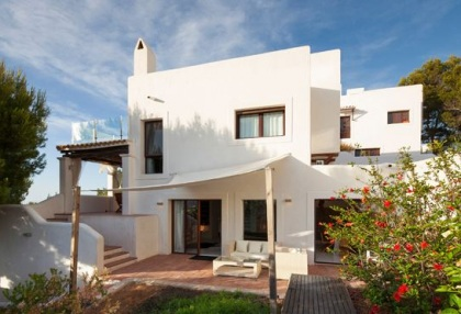Sea view home for sale in Cala Moli Ibiza recently modernised_1