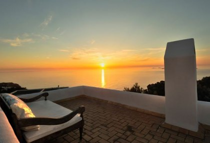 Sea view home for sale in Cala Moli Ibiza recently modernised_4