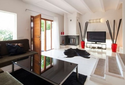 Sea view home for sale in Cala Moli Ibiza recently modernised_5