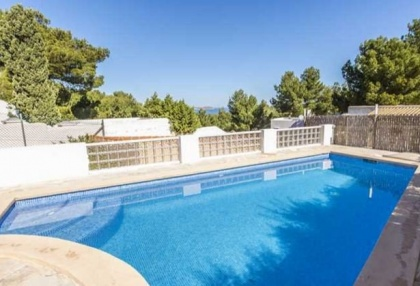 House with pool and sea views for sale in Cala Vadella_9