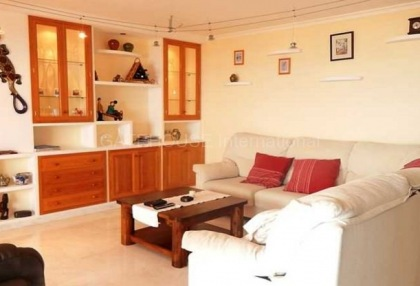 First line sea view apartment for sale in cala de bou_2