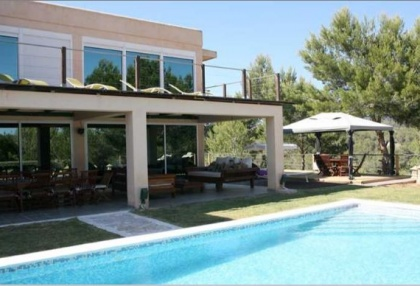 Modern villa with countryside views in Cala Jondal_2