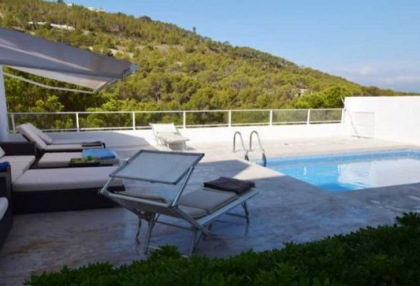 detached house with distant sea view in cala vadella_2
