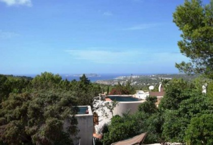 Detached house for sale with distant sea views close to Cala Tarida_2