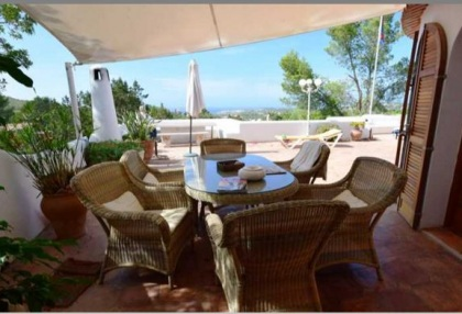 Detached house for sale with distant sea views close to Cala Tarida_5