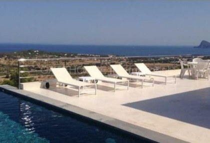 New built sea view house in Cala Conta_s