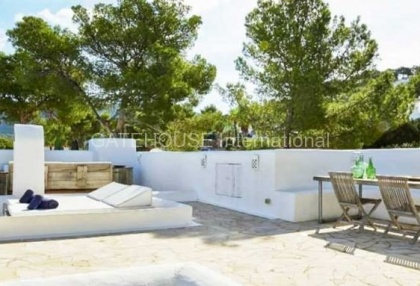 Sea view home for sale in Cala Vadella, Ibiza_8