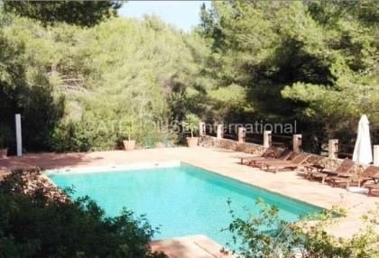 Two homes on a large plot in Es Cubells_1