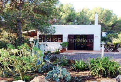 Two homes on a large plot in Es Cubells_5