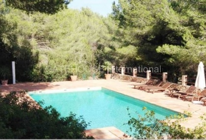 Two homes on a large plot in Es Cubells_9