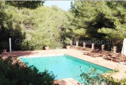 Two homes on a large plot in Es Cubells_s