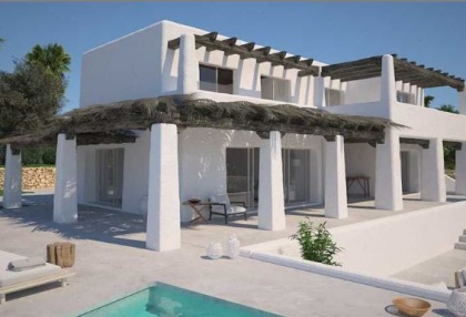 Renovation project for sale in Es Cubells_2