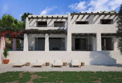 Renovation project for sale in Es Cubells_3