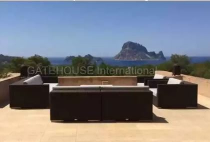 Apartment in Cala Carbo with views towards Es Vedra_0