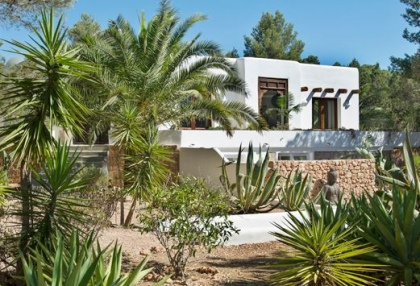 Modernised villa with distant sea views for sale Benimussa Ibiza on Sant Josep coast 0
