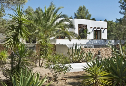 Modernised villa with distant sea views for sale Benimussa Ibiza on Sant Josep coast 1