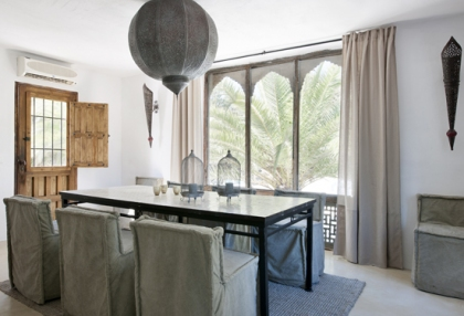 Modernised villa with distant sea views for sale Benimussa Ibiza on Sant Josep coast 5