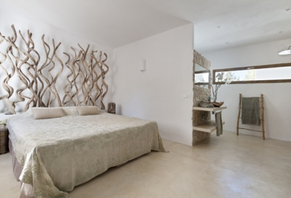 Modernised villa with distant sea views for sale Benimussa Ibiza on Sant Josep coast 7