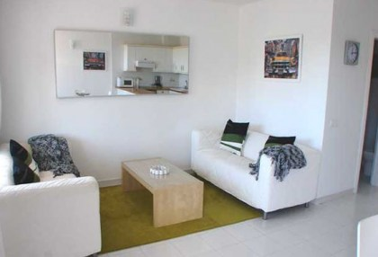 For Sale seafront apartment San Jose Ibiza fully furnished holiday rental 1
