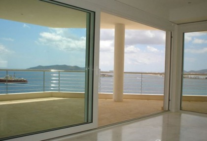 2 bedroom modern new build apartment for sale Ibiza Town front line sea views 6