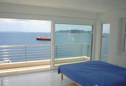 2 bedroom modern new build apartment for sale Ibiza Town front line sea views 7