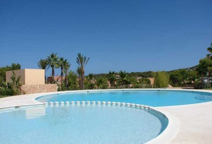 For sale 2 bedroom luxury apartment Cala Tarida San Jose Ibiza close to beach 1